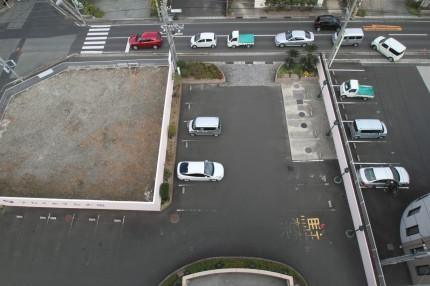 スカイホテル大田本館駐車場